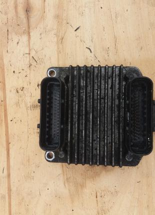 Компьютер блок управления двигателем Opel Astra G 1.6 09355929