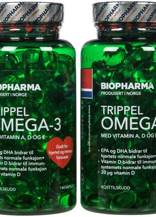 Омега-3 Тройной Biopharma из Норвегии