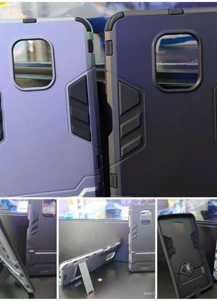 Чехол/Бампер + 4D Стекло на Xiaomi Redmi Note 9 Black
