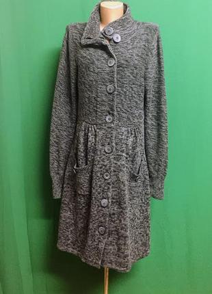 Длинный кардиган-кофта-пальто zero
