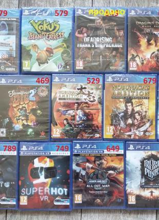 Playstation 4 Игра PS4
