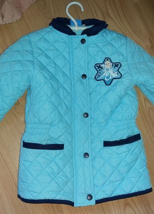 Стеганая куртка Disney