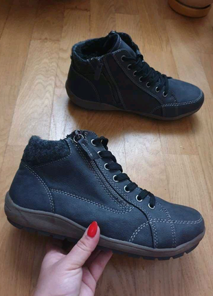 Зимние утеплённые ботинки