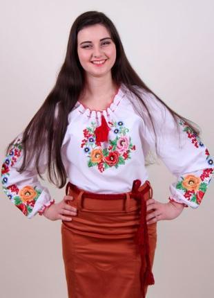 Вышитая блуза Диана (Украина)