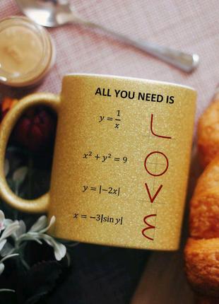Чашка формула любви