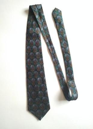 Шелковый галстук от lanvin