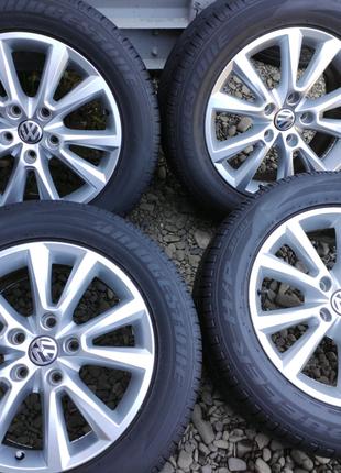 Комплект оригинальных дисков R18 5×130 VW Touareg Karakum 7P66010