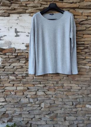 Эффектный мягусенький пуловер большого размера