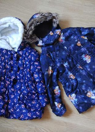 Зимняя куртка для девочки 98/104 George, Disney