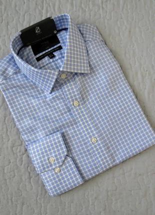 Мужская рубашка  marks&spencer размер 39-40