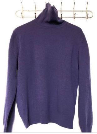 Шерстяной свитер гольф от riflessi