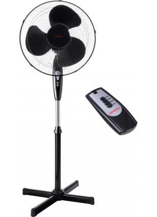 Вентилятор с дистанционным пультом управлением напольный мощный