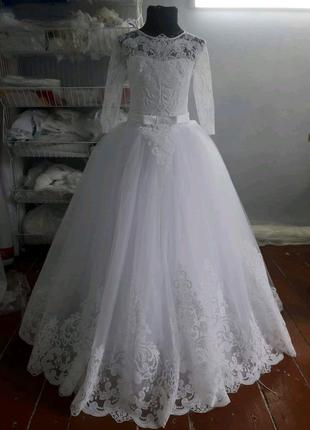 Платье на первое причастие