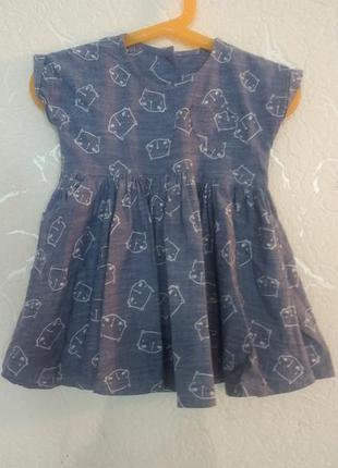 Платье matalan 12-18 мес