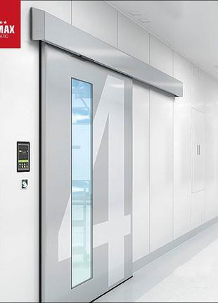 Автоматические раздвижные медицинские двери  с приводом TORMAX 21