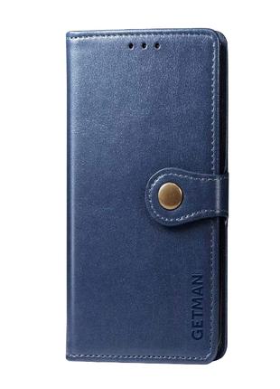Кожаный чехол книжка для Xiaomi Redmi Note 9