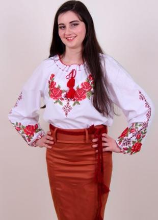 Вышитая блуза Зоряна (Украина)
