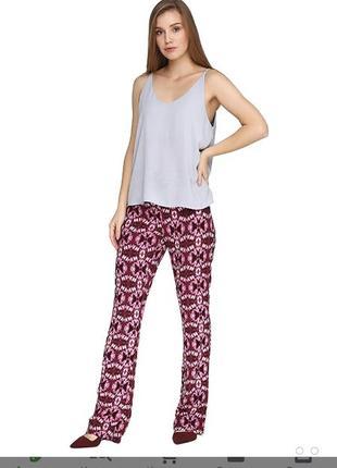 Стильные эффектные штаны брюки с вискозы