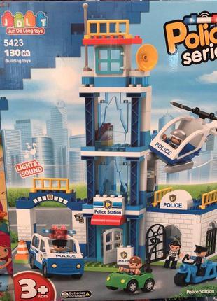 Конструктор для самых маленьких JDLT 5423 Полицейский участок