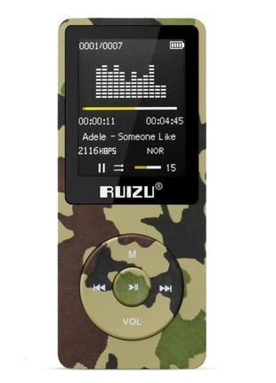 MP3 Плеер RuiZu X02 8Gb Original Камуфляж