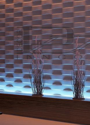 Гипсовая 3D панель Brick