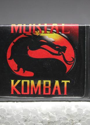 Mortal Kombat   Sega Mega Drive   Игровой Картридж