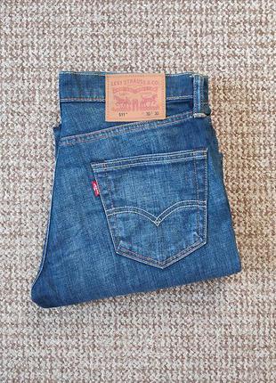 Levi's 511 slim fit джинсы оригинал (w30 l30)