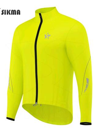 Светоотражающая велосипедная ветровка куртка дождевик