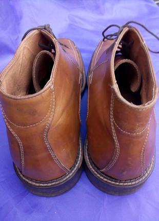 Ботинки мужские кожаные  размер 44,5 (укр)