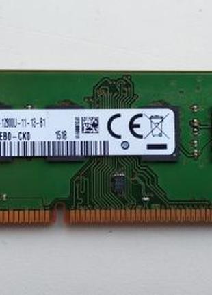 Оперативная память 8GB DDR3 1600MHz Samsung для ПК 1 модуль