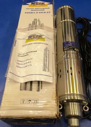 Погружной шнековый насос WERK 1.2-50-0.37