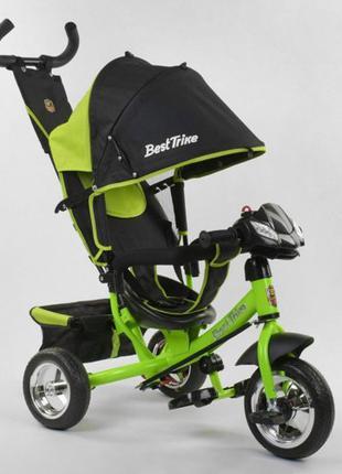 Новый трёхколёсный велосипед с родительской ручкой
