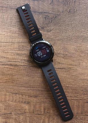 Смарт часы xiaomi Amazfit Pace sport smart watch black смарт