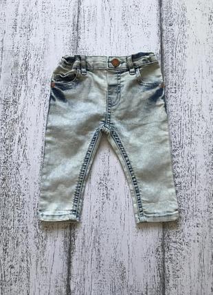 Крутые джинсы штаны брюки river island 3-6 мес