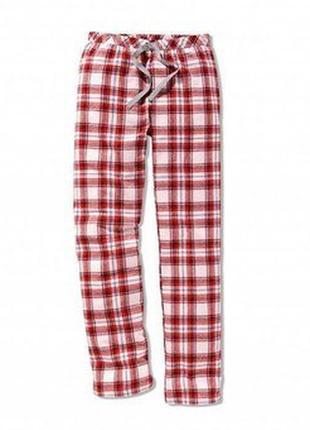 Легкие домашние , пижамные штаны в клетку ! 44 р
