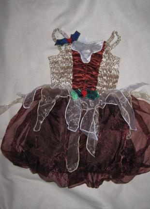 Платье карнавальное.1-3 года.рост 81-98см