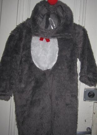 Карнавальный костюм зайчика.3-4 года.рост 104см
