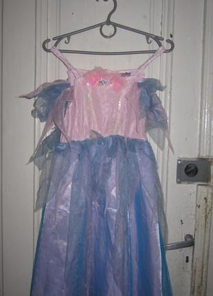Платье карнавальное.4-6 лет.рост 116см