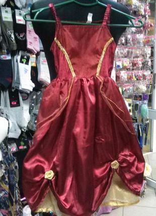 Платье принцесси,3-5лет