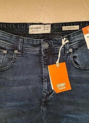 !продам новые мужские джинсы skinny pull&bear