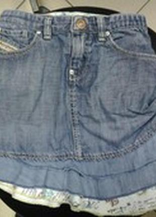Юбка джинсовая.5 лет.рост 110см