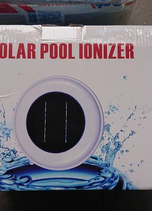 Ионизатор для бассейна на солнечной батарее Solar Pool Ionizer