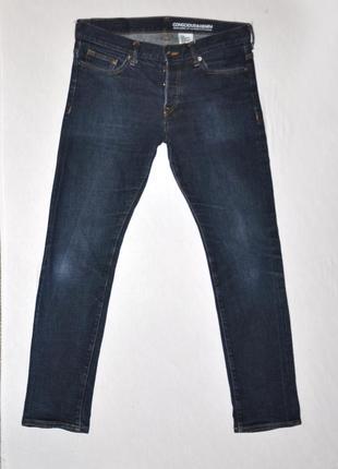 Темно-синие мужские джинсы