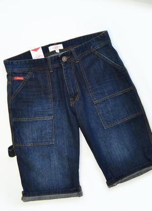 Мужские джинсовые шорты lee cooper carpenter dark wash