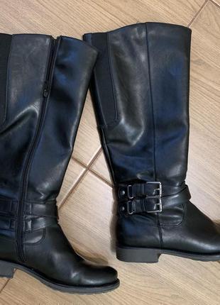 Сапожки, ботинки, черные сапожки, сапоги, демисезонные, сапожк...
