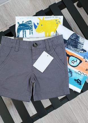 Хлопковые шорты бермуды для мальчика c&a размер 92 см