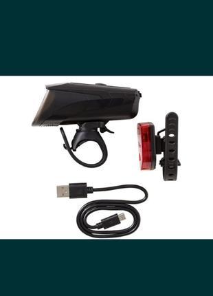 Набор велосипедных светодиодных фар с USB
