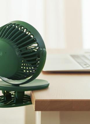Вентилятор 6 часов без зарядки заряжается от USB сети павербанка