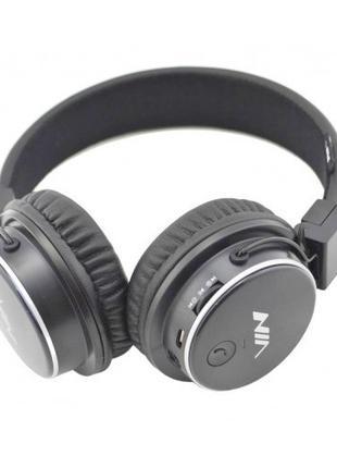 Беспроводные Bluetooth Наушники с MP3 плеером NIA-Q8 Радио BT