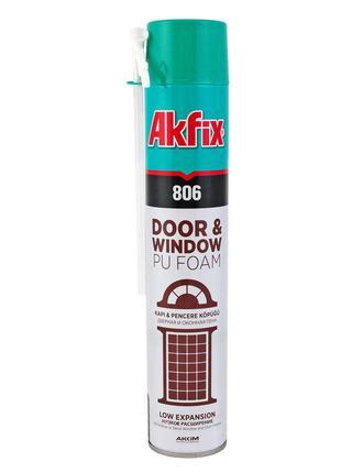 Пена Akfix - ручная для окон и дверей (806) 750 мл